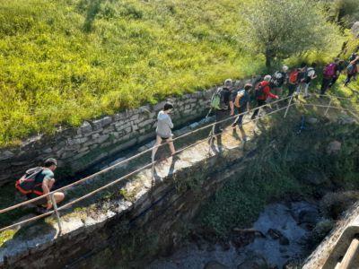 """st- Il """"Rio Tapin"""" comunemente chiamato Riale, era una delle fonti d' acqua più produttive per il funzionamento di mulini."""