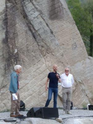 Alessandro Gogna, Sauro Zani e Bruno Migliorati
