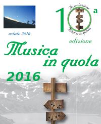 scarica il pdf del programma Musica in quota 2016