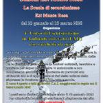 23/01/2020 4° Corso Escursionismo in ambiente innevato con racchette da neve