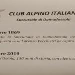 27/12/2019 Posa Targa 150° Anniversario CAI SEO