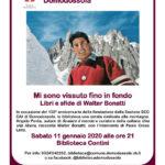 11/01/2020 Conferenza su Walter Bonatti